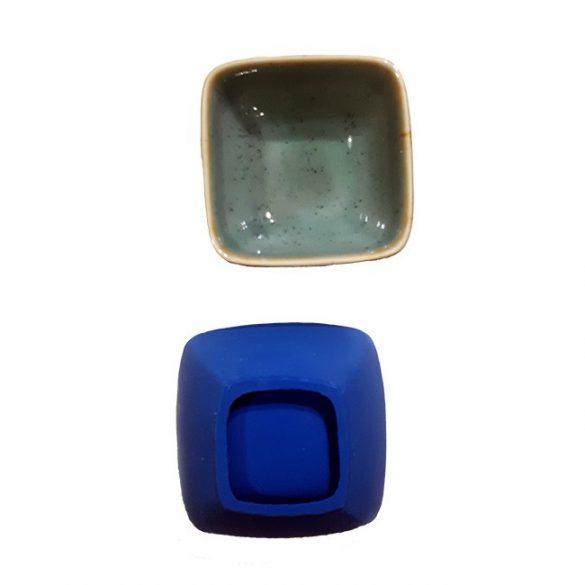 Kis szögletes csésze öntőforma
