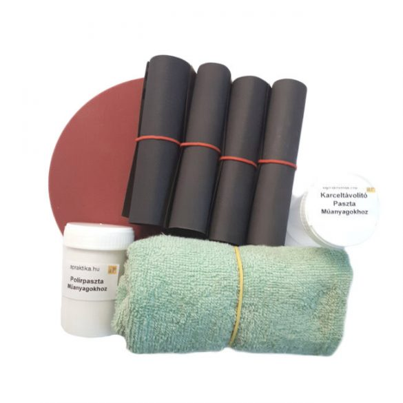 Polishing paper Kit - wet and dry