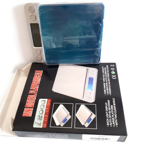 Weight Scale, 0.1g Precision, max. 2 kg