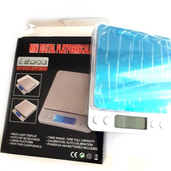 precíziós mérleg 500g méréshatárig, 0,01g pontissággal
