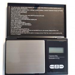 Pocket Scale, 0.1g Precision, max. 200g