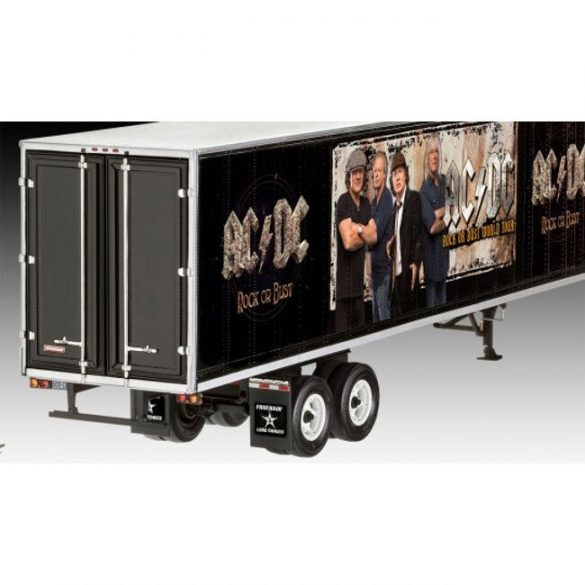 Truck & Trailer AC/DC Limited Edition mock-up