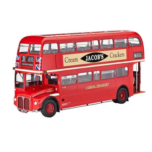 London Bus buszmakett