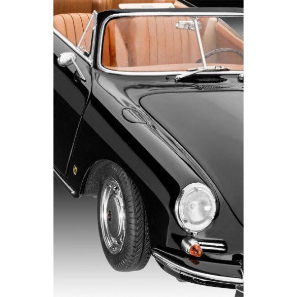 Porsche 356 Convertible car mock-up