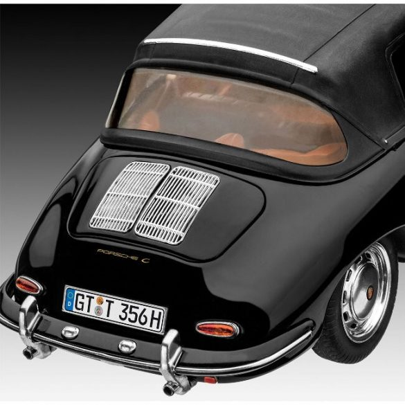 Porsche 356 Convertible autómakett