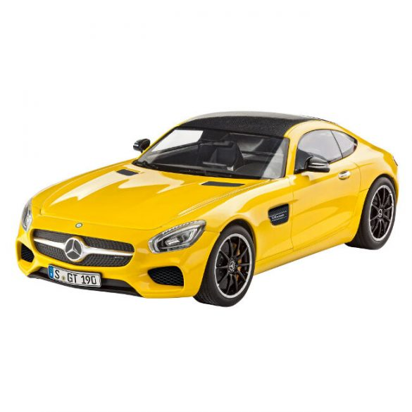 Mercedes AMG GT car mock-up