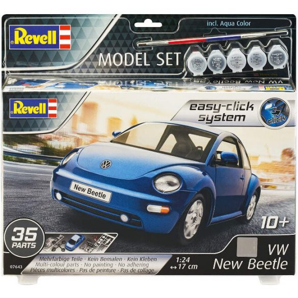 Volkswagen Makett Szett - VW New Beetle