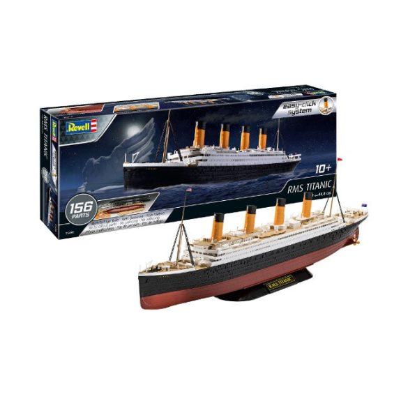 Titanic hajómakett