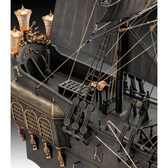 Black Pearl Ship Mock-up