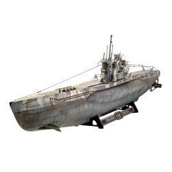 German Submarine Type VII C/41 tengeralattjáró makett