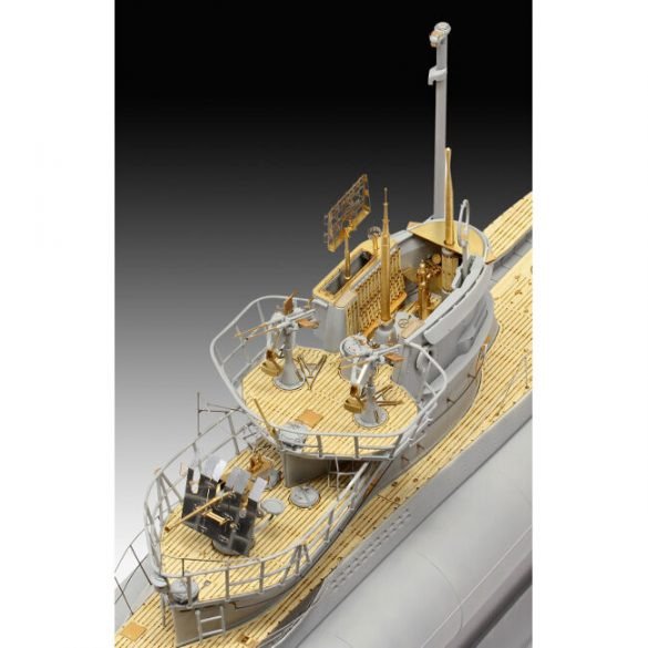 German Submarine Type VII C/41 mock-up