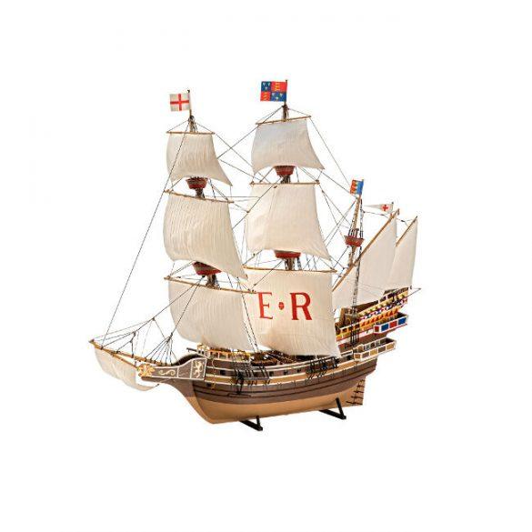 English Man Owar Ship Mocl-up