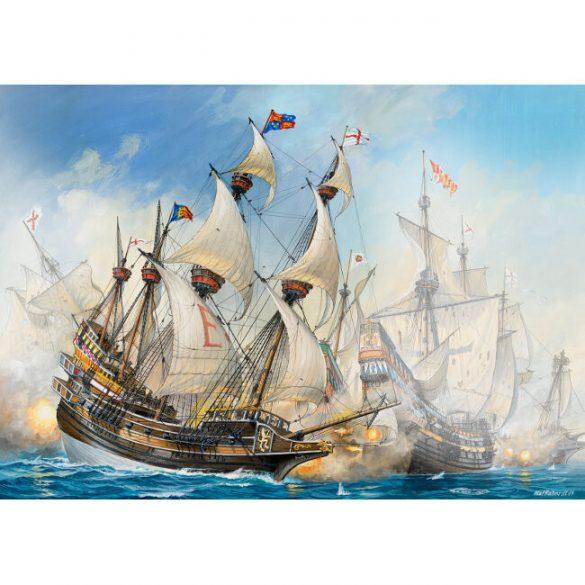 Vitorlás Hajó Makett -English Man Owar