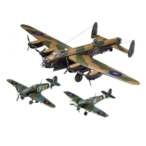 Fight Mock-up - 100 Years RAF: Gift Set Flying Legends