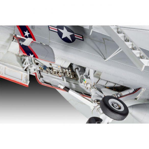 F/A-18E Super Hornet katonai repülőmakett
