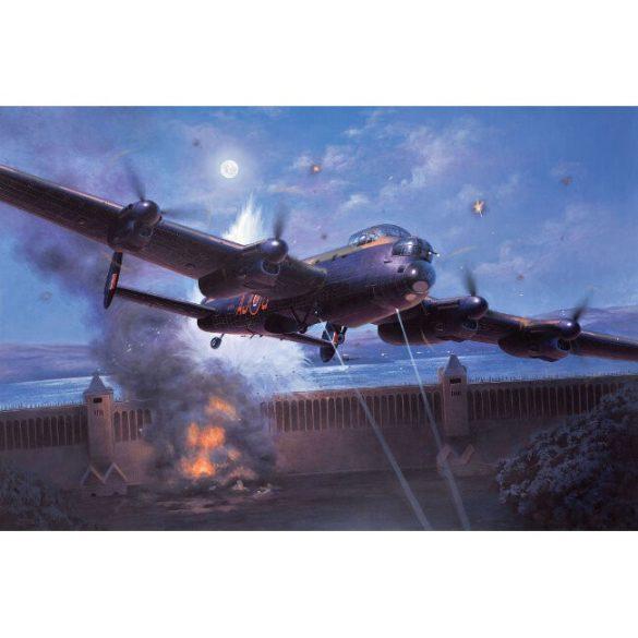 Lancaster B.III Dambusters bombázó repülőmakett